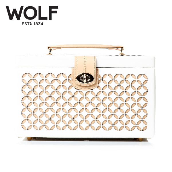 [울프 WOLF] 301053 (Chloe Medium Box Cream) / 보석함 Jewel Box