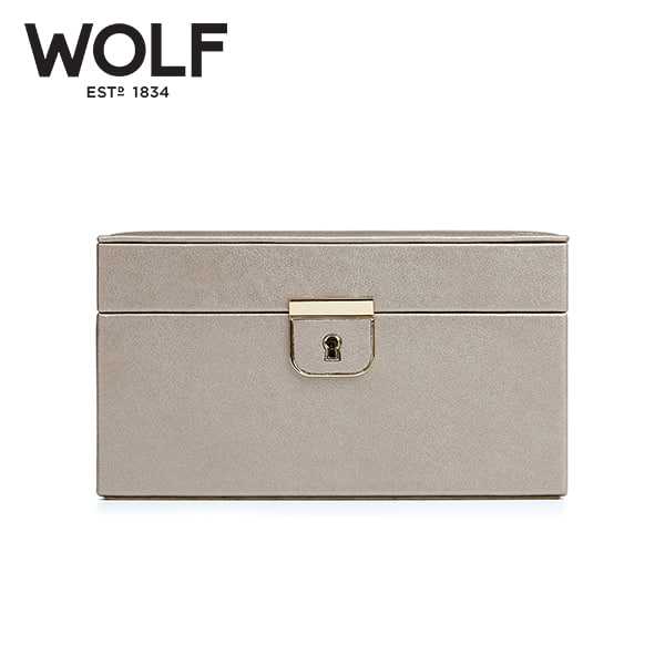 [울프 WOLF] 213178 (Palermo Small Box Pewter) / 보석함 Jewel Box 타임메카