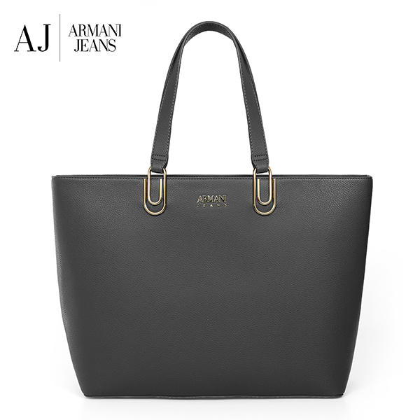 [아르마니진 ARMANI JEANS] 922329 CD793 00243 / WOMAN SHOPPING BAG ANTRACITE GREY 여성 숄더백 타임메카