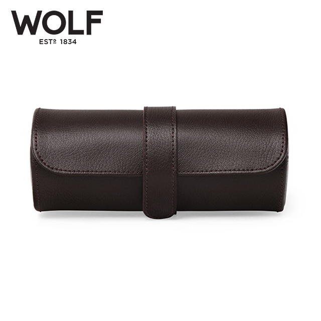 [울프 WOLF] 305606 (Blake Watch Roll Brw) / 시계보관함 Watch Cubbyhole