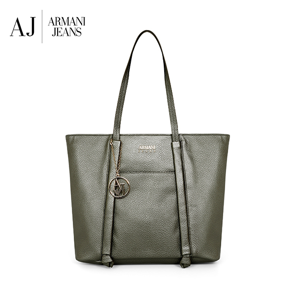 [아르마니진 ARMANI JEANS] 922341 CD813 00417 / WOMAN SHOPPING BAG ANTRACITE GREY 여성 토트백 타임메카