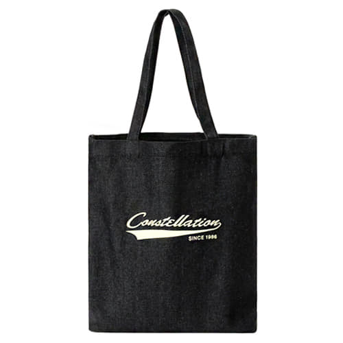 [콘스텔레이션 CONSTELLATION] B#CS016-black-denim / ECOBAG 타임메카