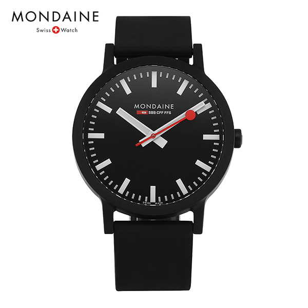 [몬데인시계 MONDAINE] MS1.41120.RB / Swiss Railways Essence 41mm 타임메카